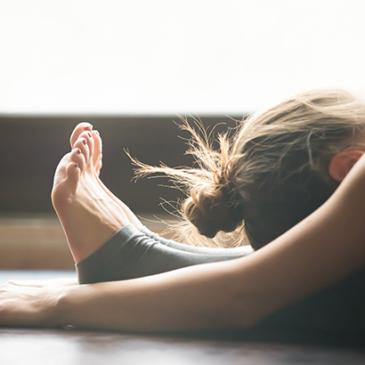 舒緩伸展瑜珈