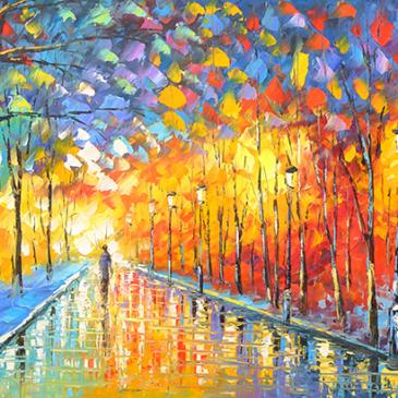 藝術陪伴溫暖我心-輕彩繪與心靈拼貼®